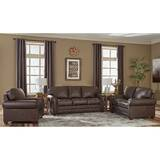 Lexus 3 Piece Leather Living Room Set by 17 Stories