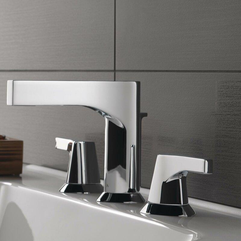 3574 Ssmpu Dst Pnmpu Dst Mpu Dst Delta Zura Widespread Bathroom Faucet With Drain Assembly And Diamond Seal Technology Reviews Wayfair