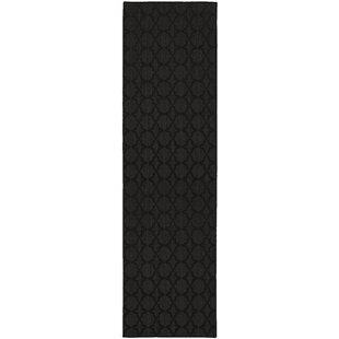 Affordable Gurdon Black Area Rug ByCharlton Home