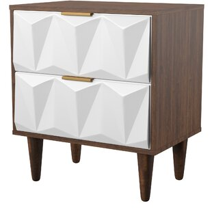 Manke 2 Drawer Nightstand