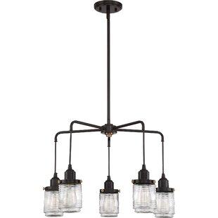 Burgess 5-Light Shaded Chandelier
