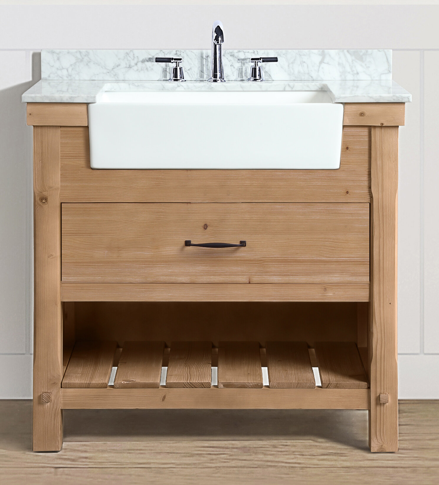 Hayle 36 Single Bathroom Vanity Set
