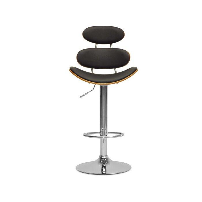 Enjoyable Baxton Studio Adjustable Height Swivel Bar Stool Uwap Interior Chair Design Uwaporg