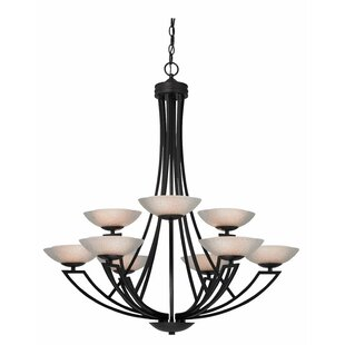 Dolan Designs Delany 9-Light Shaded Chandelier