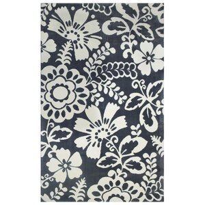 Microplush Dark Gray Area Rug