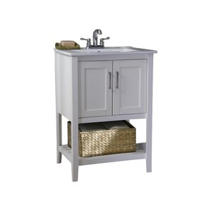 24 Inch Bathroom Vanity With Legs shop 10,024 bathroom vanities | wayfair