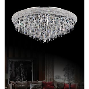 CWI Lighting Kingdom 16-Light Flush Mount