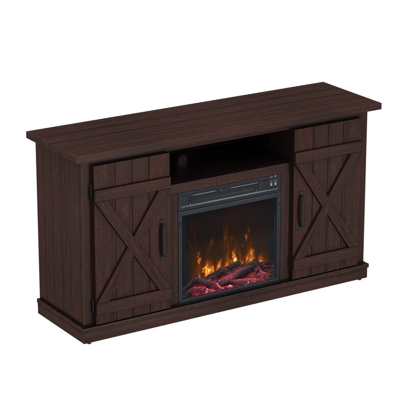 Serein 48 TV Stand With Fireplace