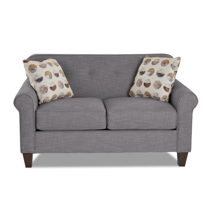 Superb Sebastien Loveseat Inzonedesignstudio Interior Chair Design Inzonedesignstudiocom