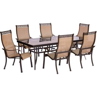 Bucci 7 Piece Dining Set by Fleur De Lis Living