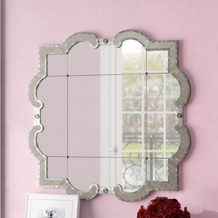 Detailed Accent Wall Mirror by House of Hampton