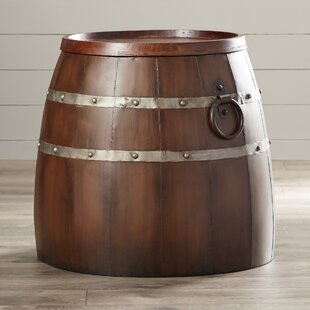 Leila Wine Barrel End Table