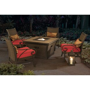 Jane 5 Piece Conversation Set with Cushions