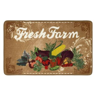 Molinari Hd Printed Fresh Farm Kitchen Mat