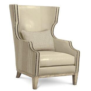 Warner Wing Arm Chair by Gracie Oaks