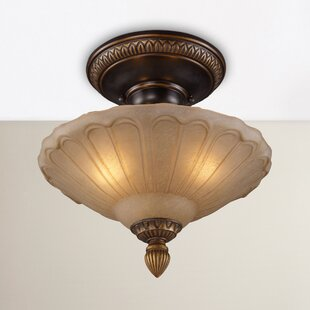 Albreda 3-Light Semi Flush Mou..