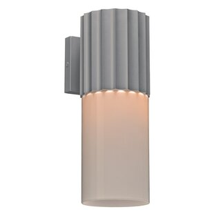 Order Lynmouth 1-Light Outdoor Sconce By Ebern Designs