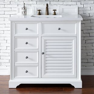 Osmond 36 Single Cottage White Bathroom Vanity Set by Greyleigh