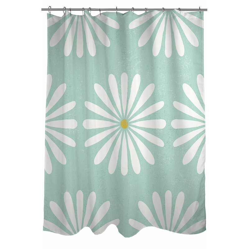 Manual Woodworkers Weavers Jar Of Sunshine Vintage Daisy Single Shower Curtain Wayfair