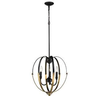Mercer41 York 3-Light Globe Chandelier