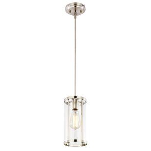 Ebern Designs Everhart 1-Light Cylinder Pendant Light