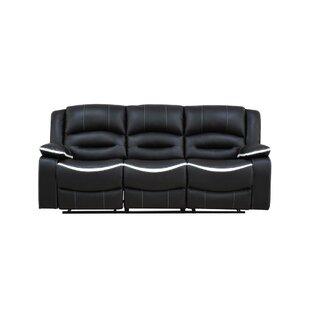 Shop Mundt Reclining Sofa by Ebern Designs