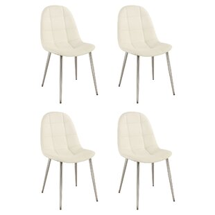 Chintaly Imports Donna Solid Wood Dining Chair (Set of 4)