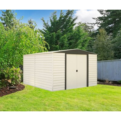 d metal storage shed dallas 10 ft 3 in w x 12 ft 2 in d - Garden Sheds 7 X 3