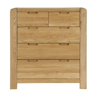 Cambridge 5 Drawer Chest By Natur Pur