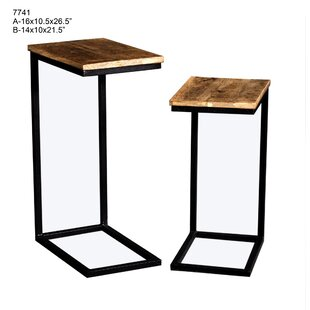 Yong 2 Piece Nesting Tables by..