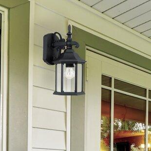 Alcott Hill Castellanos 1-Light Outdoor Wall Lantern