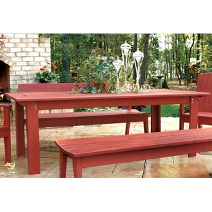 August Grove Rectangle Dining Table