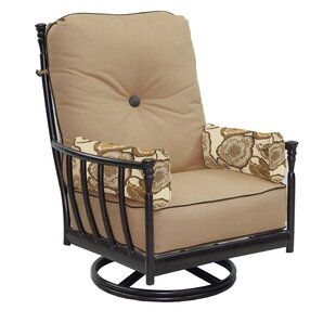 Leona Provence Swivel Rocking Chair with Cushion