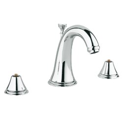 Bathroom Faucet Widespread grohe geneva widespread bathroom faucet, less handles & reviews