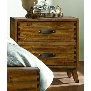 Affordable Price Decamp 2 Drawer Nightstand by Brayden Studio