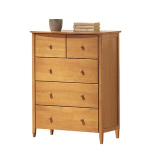 Price Check Scheffel 5 Drawer Chest by Harriet Bee Reviews (2019) & Buyer's Guide