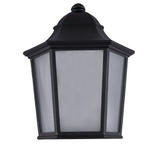 Thursa 1-Light LED Outdoor Flush Mount by Charlton Home