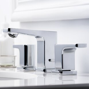 Speakman Kubos Widespread Bathroom Faucet with Drain Assembly