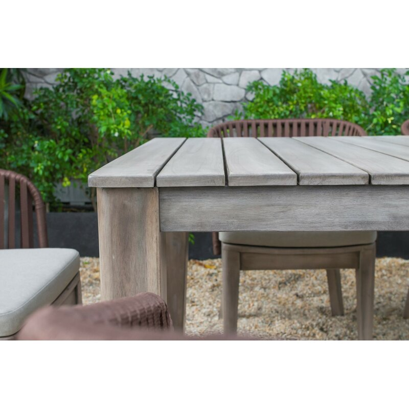 Abancourt Outdoor 7 Piece Dining Set