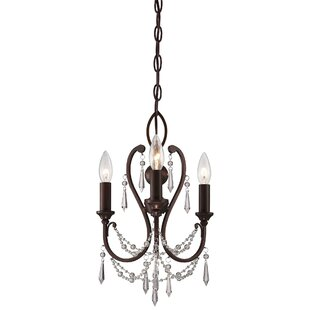 Astoria Grand Bayles 3-Light Candle Style Chandelier