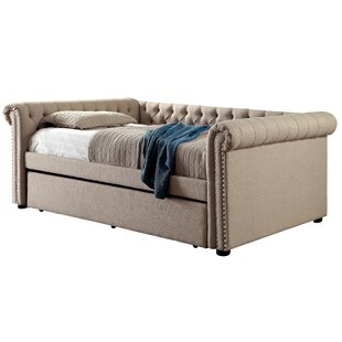 Find a Dierking Queen Daybed with Trundle by Charlton Home Reviews (2019) & Buyer's Guide