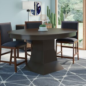 Worley Extendable Dining TableOval Kitchen   Dining Tables You ll Love   Wayfair. Arlington Round Sienna Pedestal Dining Room Table W Chestnut Finish. Home Design Ideas