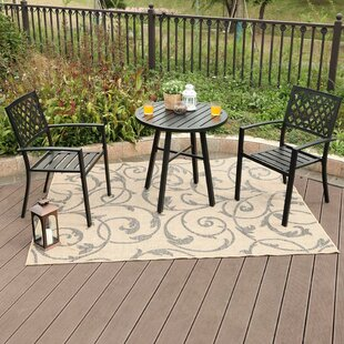 Devereaux Metal 3 Piece Bistro Set