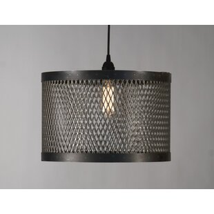 Cage 1 Cylinder Pendant by Zentique