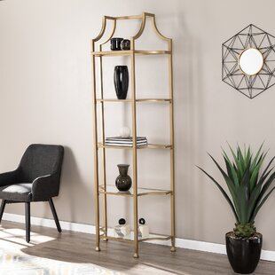 Rex Tall Etagere Bookcase by Mercer41