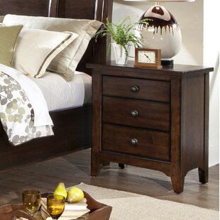 Pasley 3 Drawer Nightstand