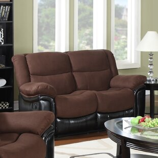 Shop Warner Reclining Loveseat by Flair