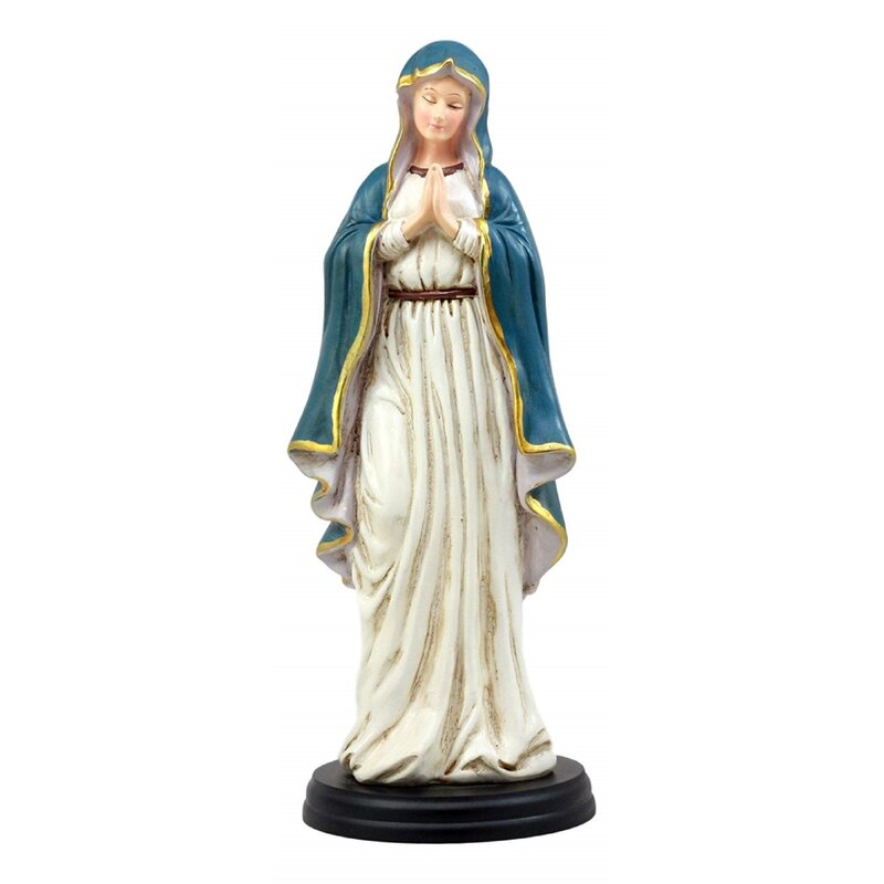 Astoria Grand Tannenbaum Lady Of Peace Blessed Virgin Mary Figurine Wayfair