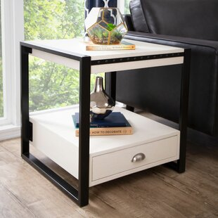 Amey End Table with Storage by Canora Grey