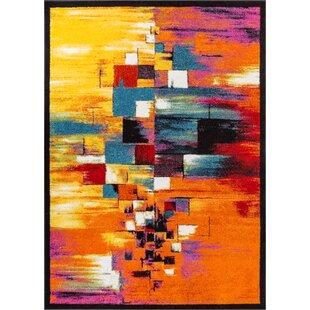 Viva Orange/Yellow Rug by Well Woven